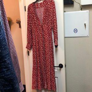 Free People maxi dress